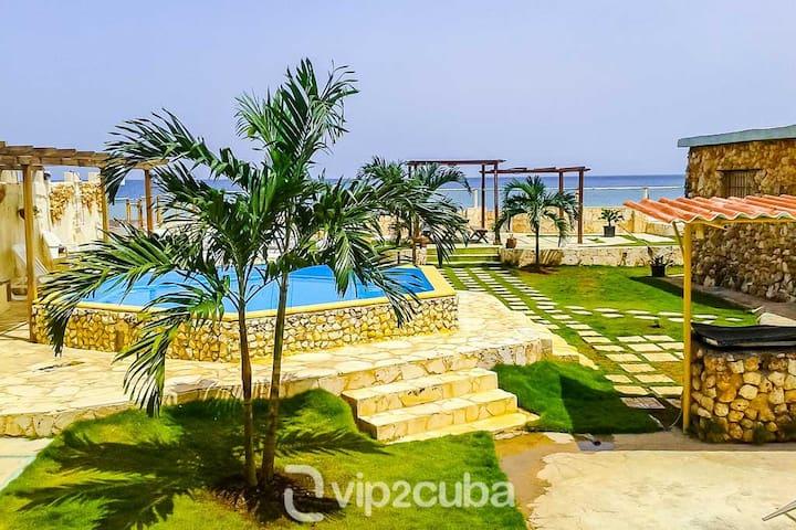 RHPL94 Ocean front Villa in Santa Fee - La Habana - Casa