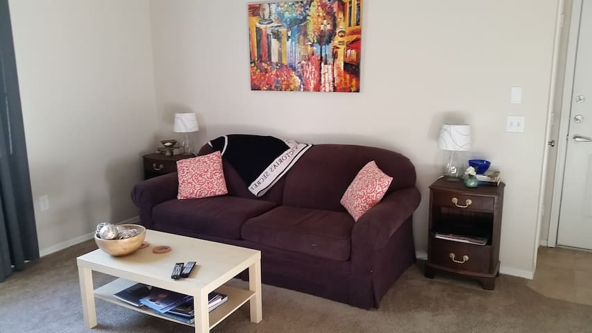 Sofa Bed Minutes from DT Chandler - Chandler - Apartment