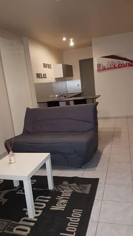 Beau studio moderne