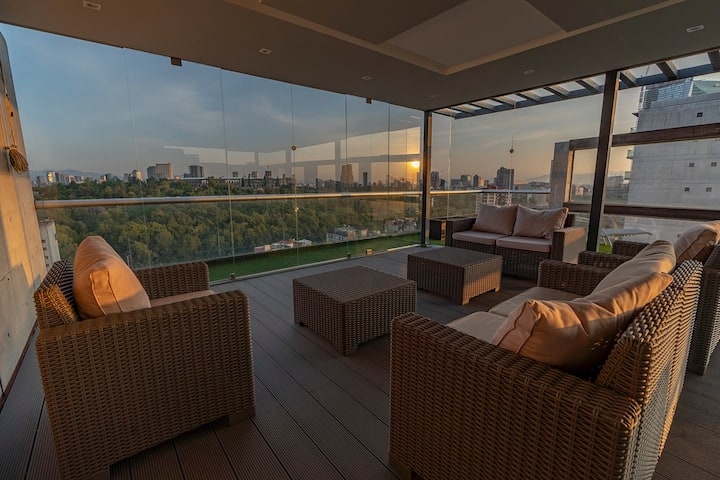 Luxury PH Incomparable View Roofgarden N Jacuzzi