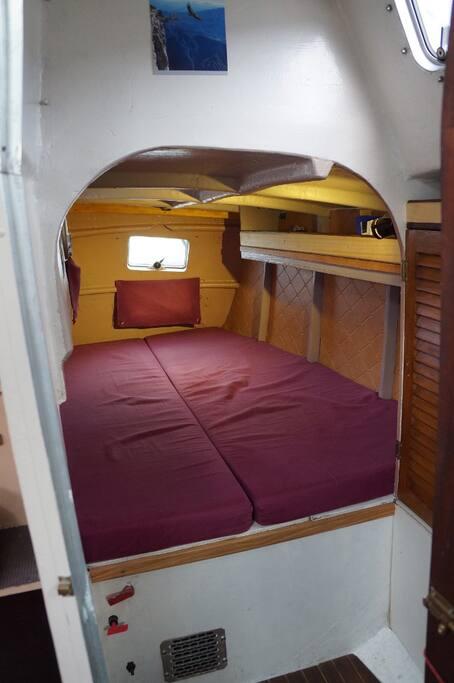 La cabine arrière