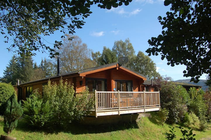 Luxury Woodland Alder Lodge