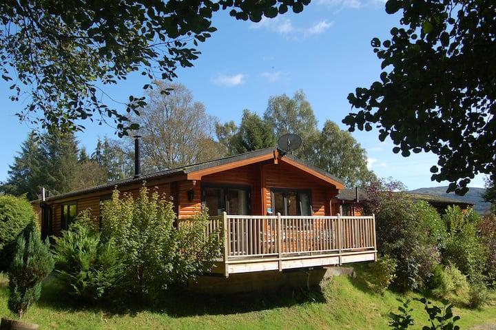 Luxury Woodland Alder Lodge