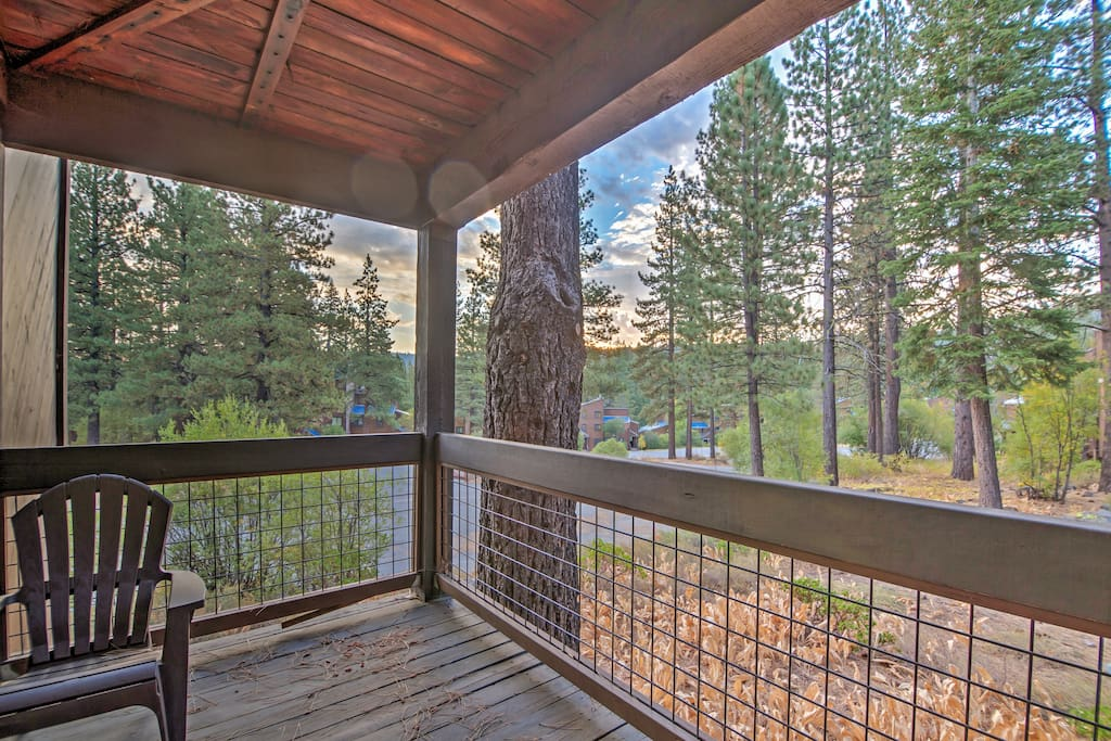 Elevate your Lake Tahoe escape with this Truckee vacation rental condo.
