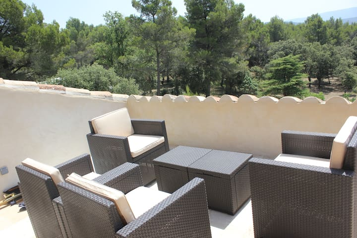 Cottage Provence, Domaine de la Gaille 33 hectares - Saumane-de-Vaucluse - Natuur/eco-lodge