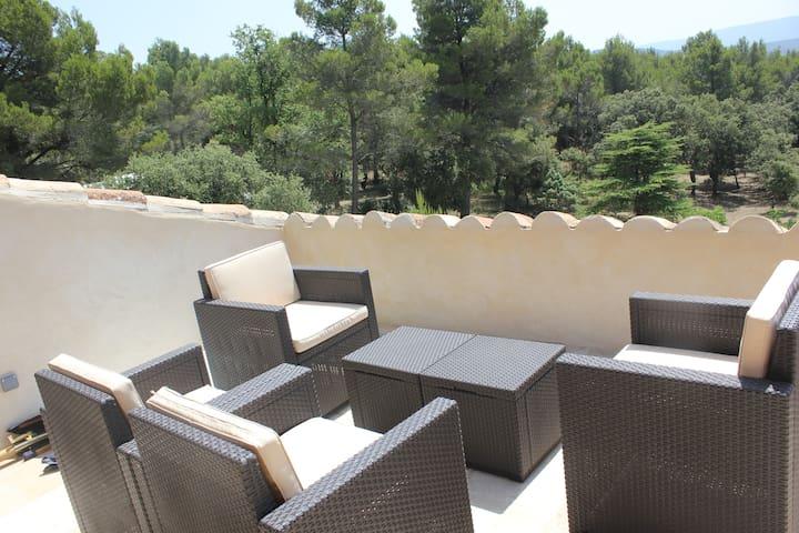 Cottage Provence, Domaine de la Gaille 33 hectares - Saumane-de-Vaucluse - Alojamento na natureza