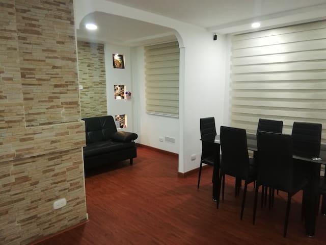 Apartamento nuevo ,acogedor y tranquilo en MADRID