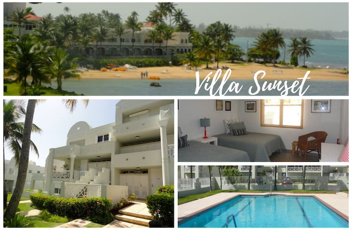 Villa Sunset- Panoramic Ocean Views -Resort Beach