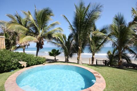 Casa Pia ubicada en la exclusiva playa de Pocitas