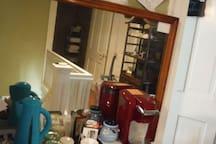 Hall Coffee/Tea Station