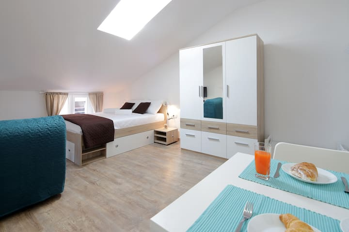 Centrally located studio apartment Seagull
