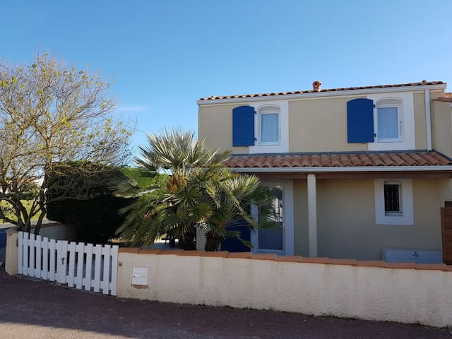 Jolie maison à 600 m de la plage