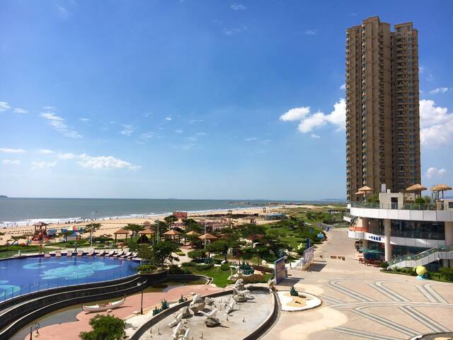 烟台市海阳碧桂园十里金滩 高档海景度假房 - Yantai