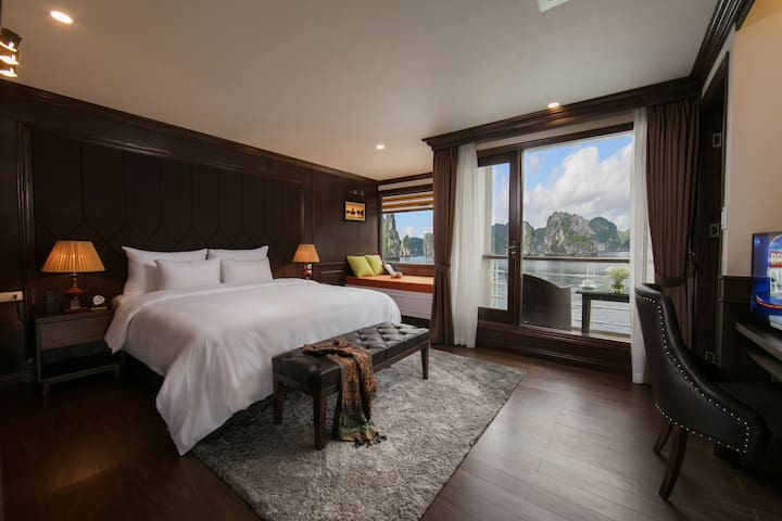 Halong & Cat Ba with 3-Day Mon Chéri Cruise 5 star