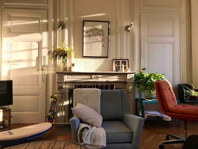 Chambre dans appartement lumineux coeur de Lyon