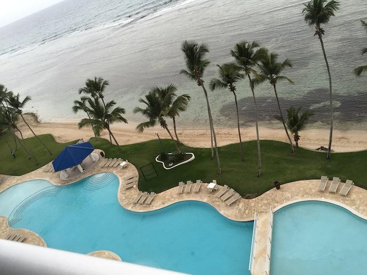 Exclusive Beachfront Apartment.