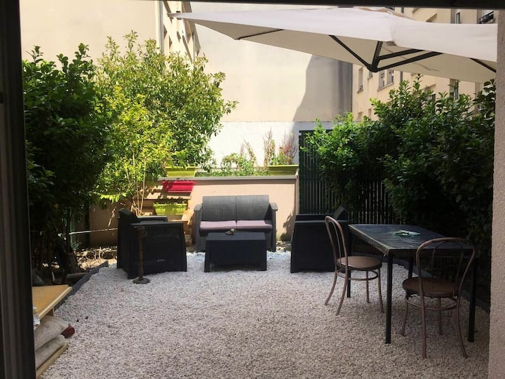 Joli appartement + belle terrasse