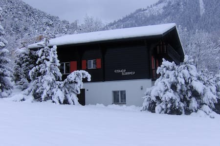 4 Pers. Appartement in ein Chalet - Ried-Brig
