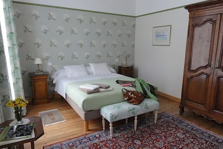 Le Figuier, chambre Les Hortensias - Sainte-Maure-de-Touraine - Gästehaus