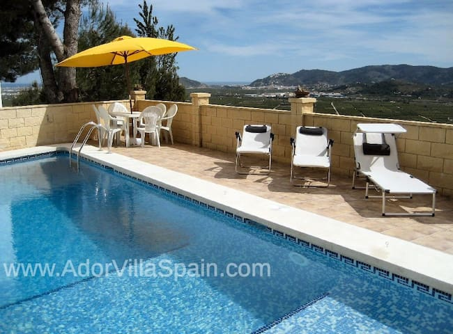 Villa - Stunning Views Private Pool - Ador - Huvila
