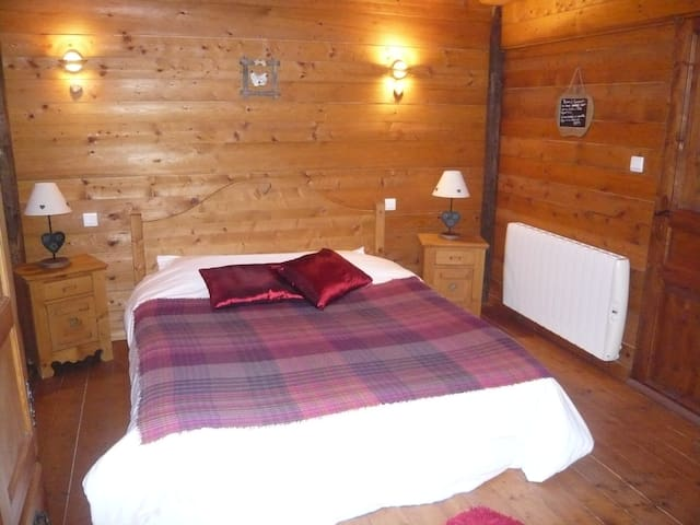 CHAMBRE CAMPAGNE: 2 PERSONNES - Vaulx - Bed & Breakfast