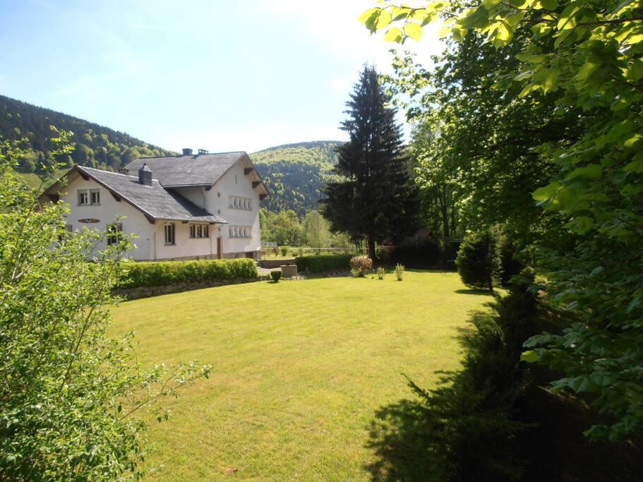 Le Pti Manoir et son jardin