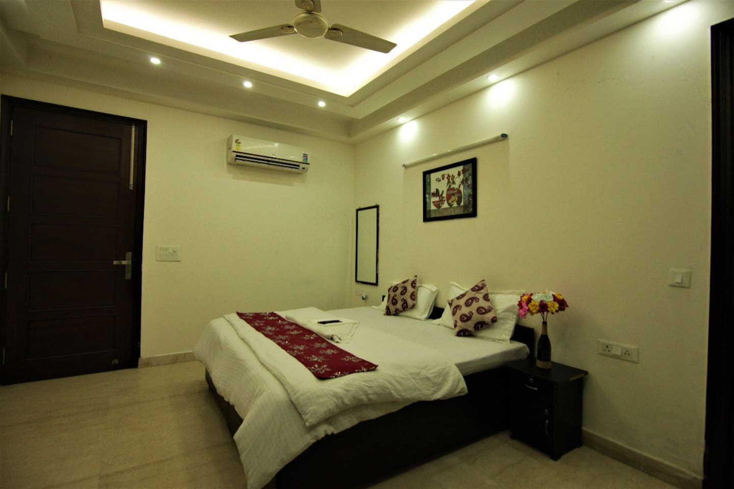 Master Bedroom with balcony