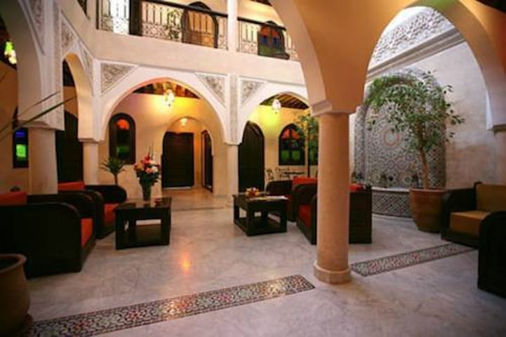 Riad Balkisse  one or several doubles/triples room
