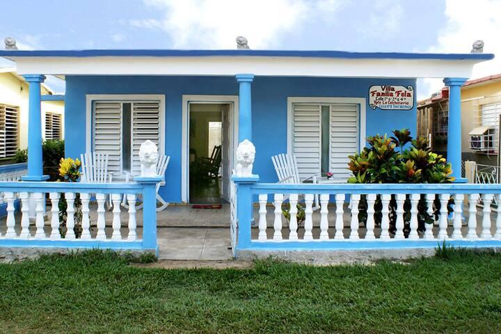 Villa Familia Fela en Viñales 2 -- (WIFI)