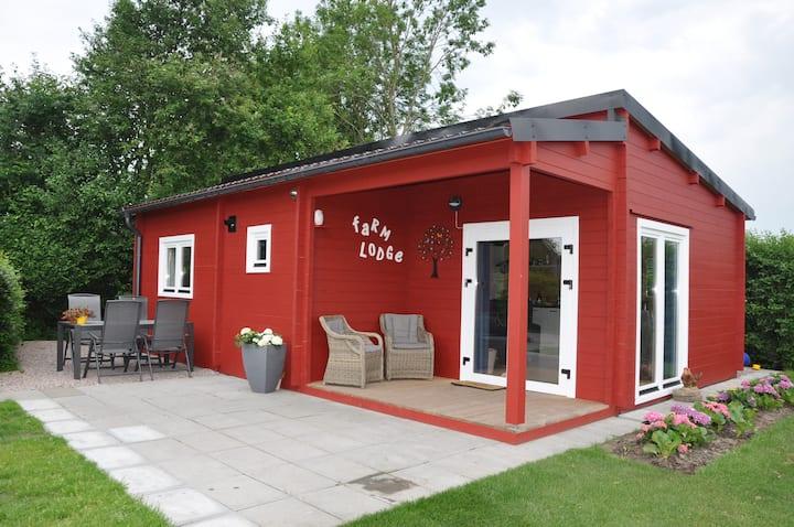 Sfeervolle Farm Lodge gelegen in Odijk, Bunnik