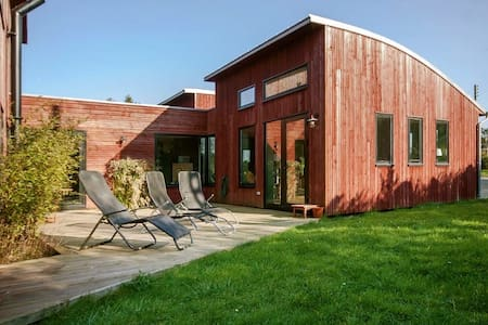 Villa bois 200m2 - 1 km de la mer - Saint-Pabu - Haus