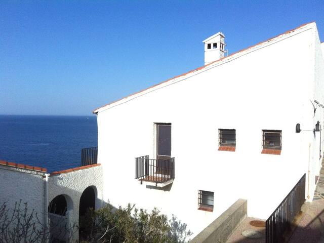 Familly house with access to beach and sea views - Banyuls-sur-Mer - Hus