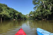 Kayaking/Paddling available Lakeside