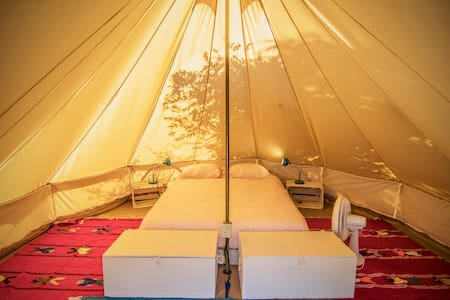 Canvas tents 2-3 Guest - Todos Santos Hostel