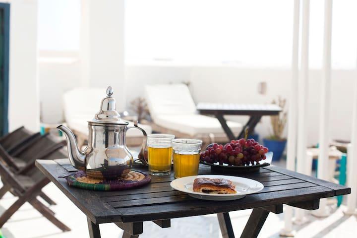 Daranur, at home in the hightest  - Essaouira - Casa