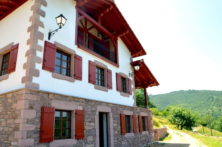 apartamento rural gainkoborda - Etxalar - Apartment
