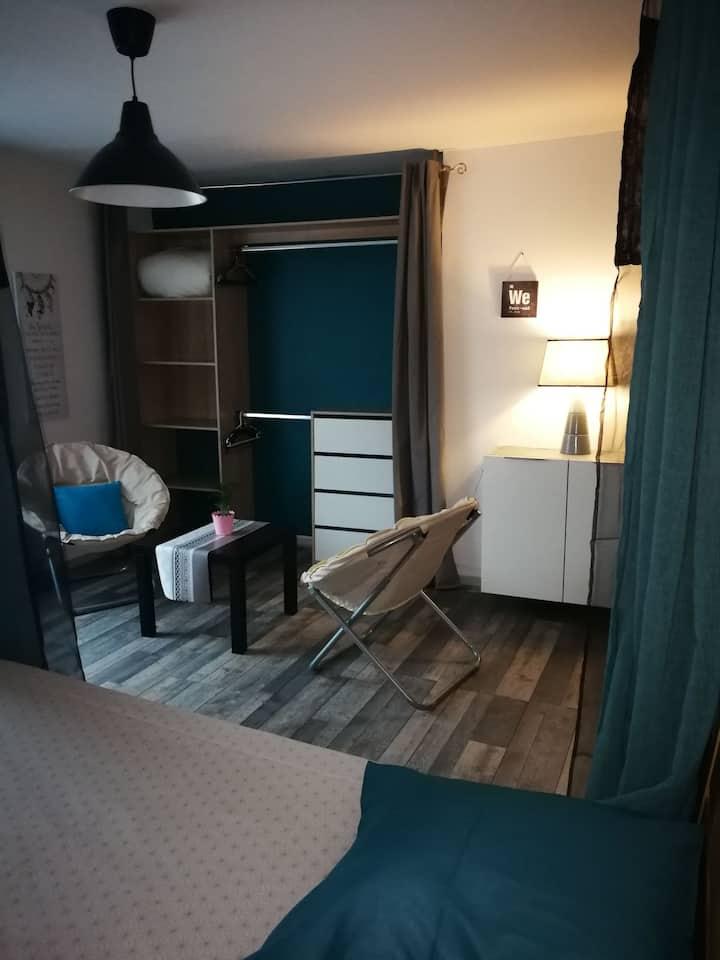 Studio muides/ Loire proximité immédiate chambord