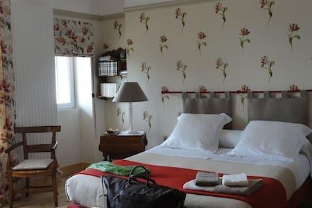 """Le Figuier, chambre """"Les Tulipes"""" - Sainte-Maure-de-Touraine - Rumah Tamu"""