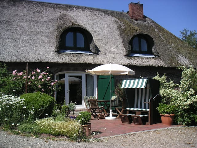Thatched holiday flat  - Poppenbüll