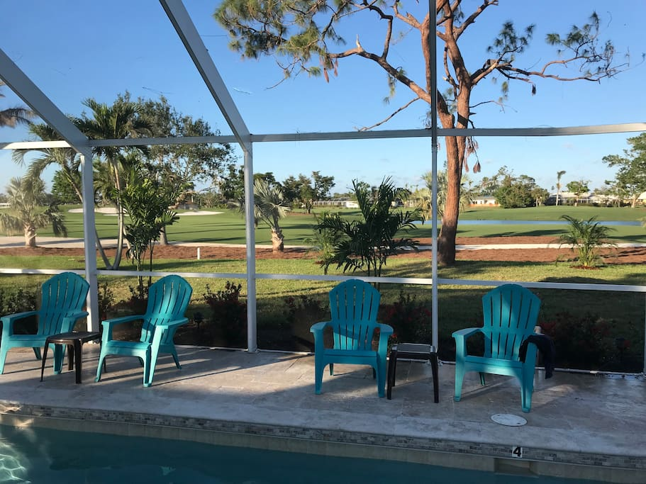 post Irma with renovated golf course views