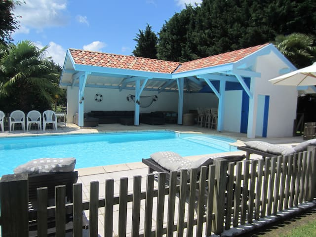 Maison campagne vacances en famille - Pey - House
