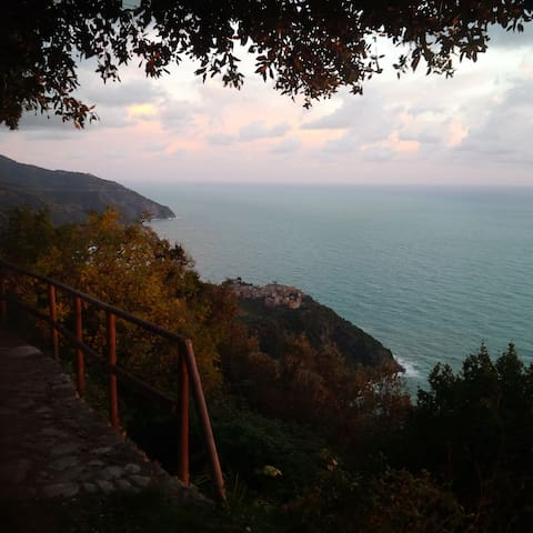 View from the hike number 2 to Vernazza
