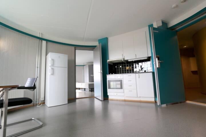 Nice room in 12th floor with great veiw - Oslo - Apartment