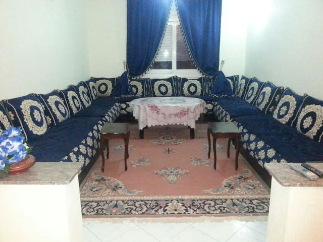 {Master Bedroom With Balcony} A++ - Meknes - Apartment