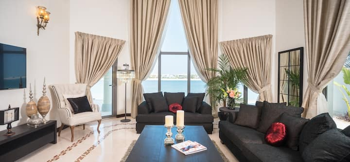 Beautiful Sea View Villa – Palm Jumeirah