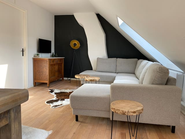 Cozy apartment (5p) in toplocation near Maastricht