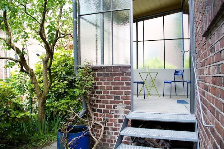 Nippes, sonniges Gartenapartment  - Cologne - Appartement