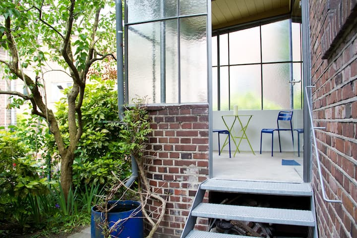 Nippes, sonniges Gartenapartment