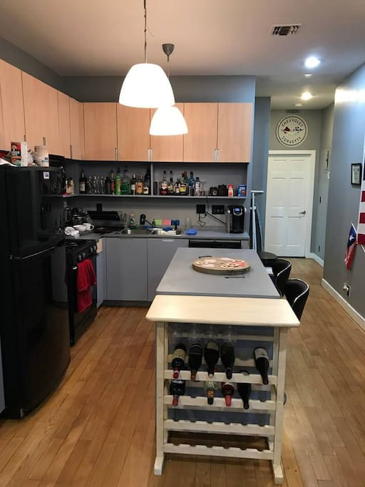 Kitchen from Living Room