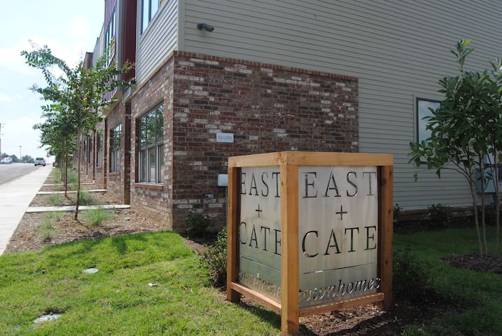 East + Cate Townhomes downtown Jonesboro A2